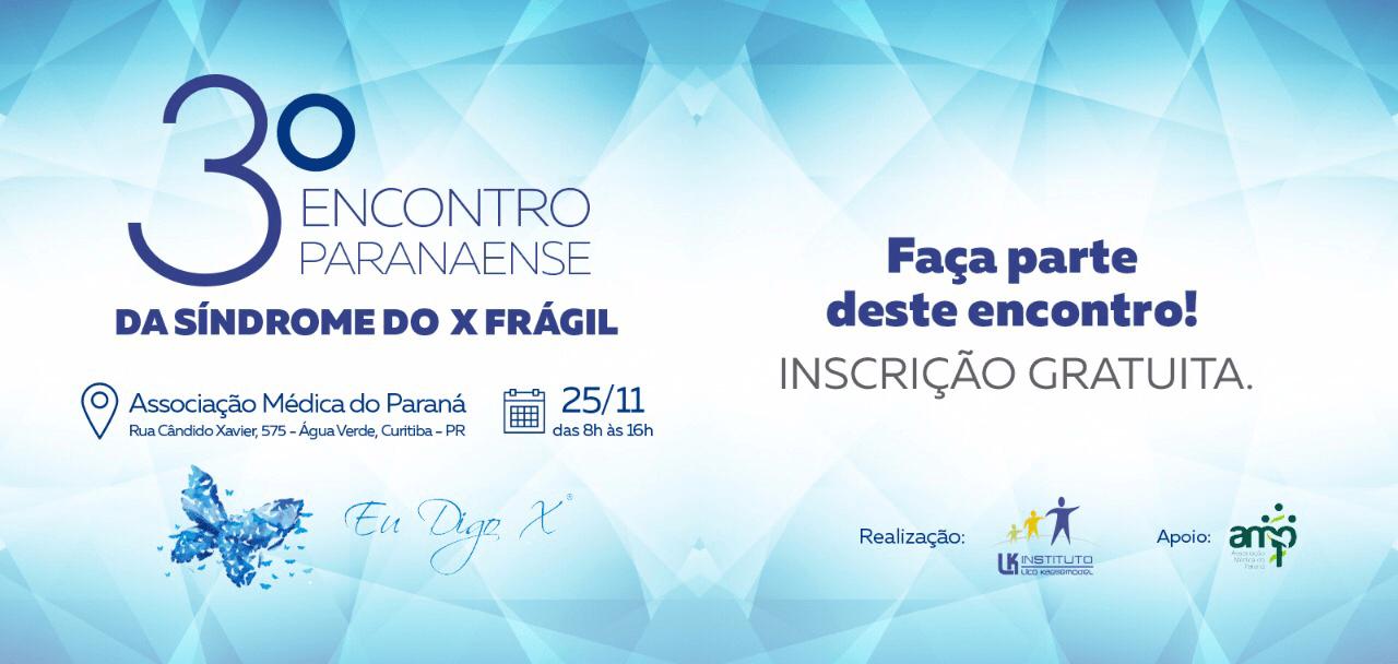 3º Encontro Paranaense Da SXF – Convite